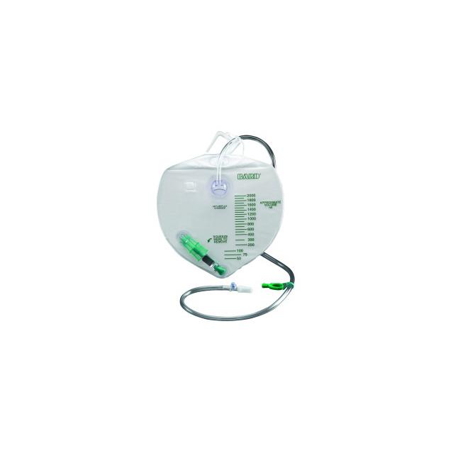 BARD® Urine Drain Bag with Anti-Reflux Chamber