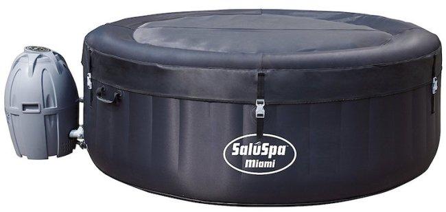 5 SaluSpa Miami Cheap inflatable hot tub