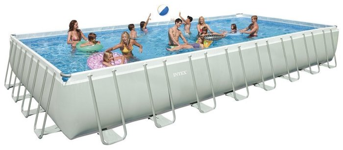 Intex 32ft above ground pool
