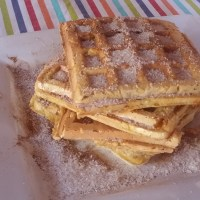 Tasty Tuesday: Pumpkin Fritter Waffles