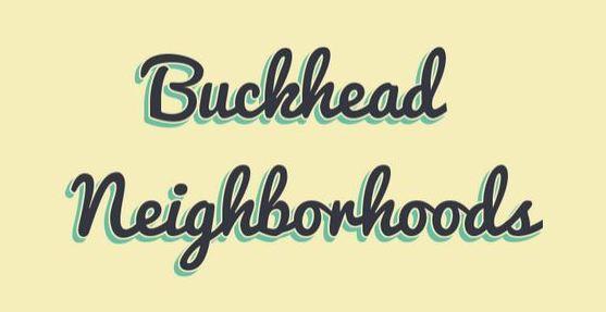 Atlanta GA Buckhead Neighborhoods