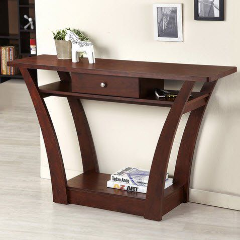 Image Result For Shallow Sofa Table