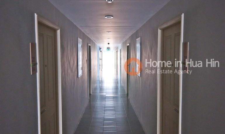 Walkway in building