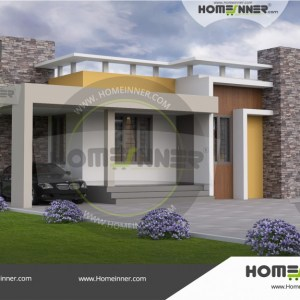 Mandsaur 10 Lakh small house single floor design