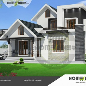 Chikkaballapur 15 Lakh villa plans and elevations