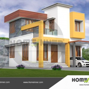 Lakhimpur 16 Lakh home plans and designs with photos