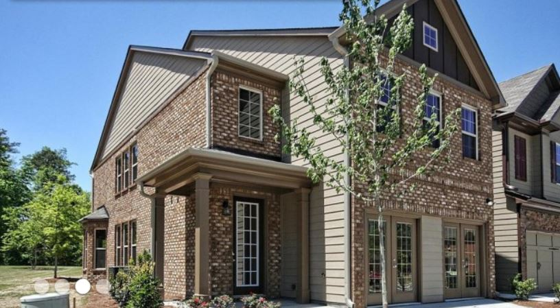 Townhome In Norcross At Story Farms
