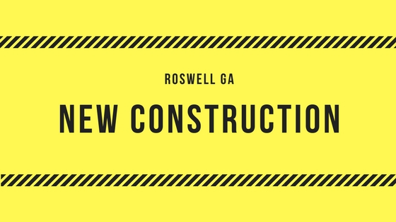 New Construction In Roswell Georgia