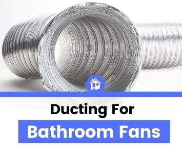 ducts for bathroom exhaust fans