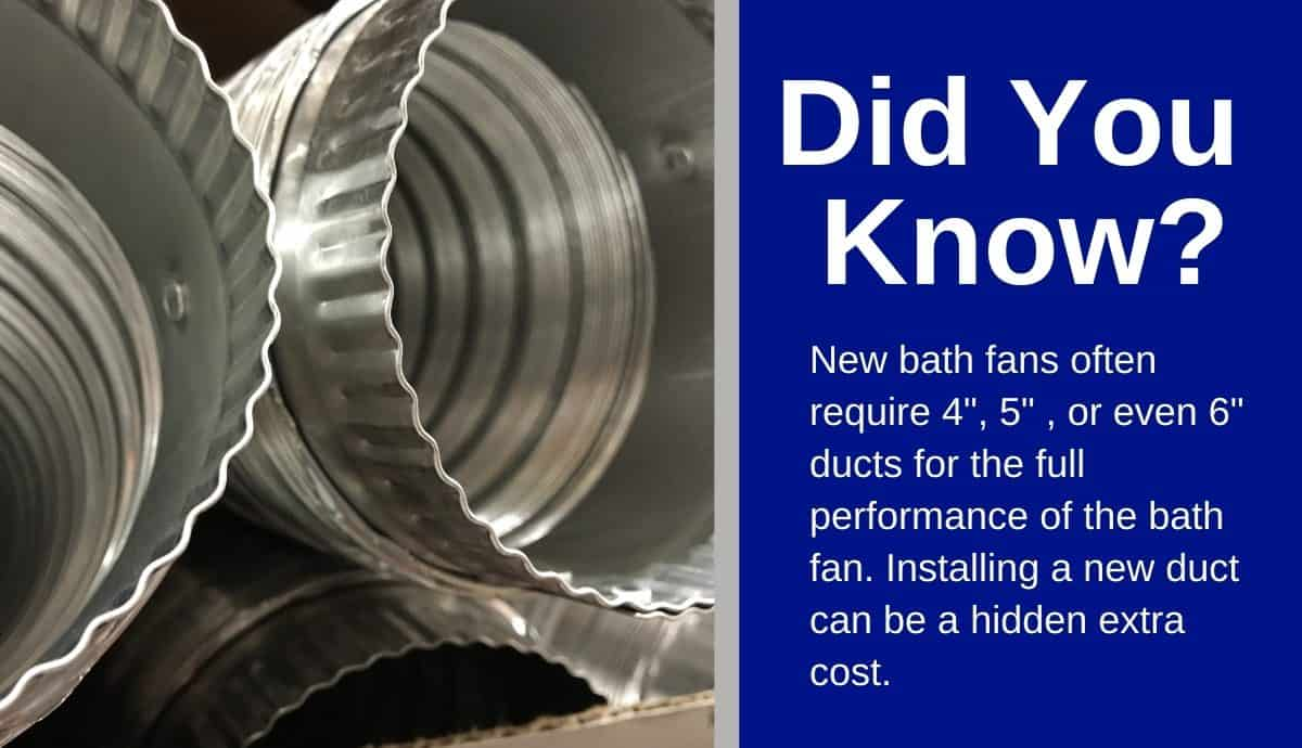 cost to install bathroom exhaust fans