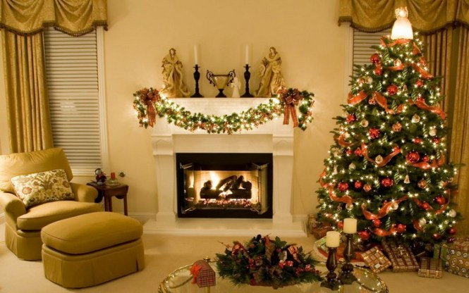 32 Amazing Red And Gold Christmas Décor Ideas