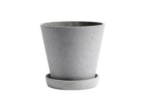 Hay Polystone Flowerpot Grey Large