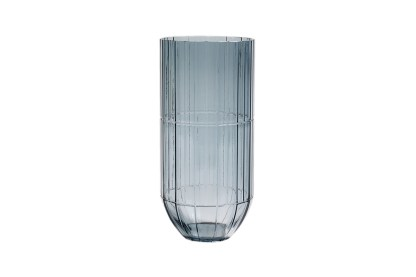 Hay Colour Cut Glass Vase, by Scholten & Baijings X-Large Blue