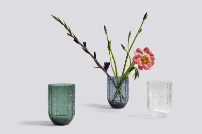 Hay Colour Cut Glass Vasez, by Scholten & Baijings