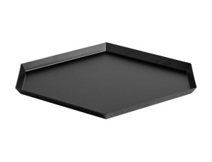 Hay Kaleido Metal Tray Large Black