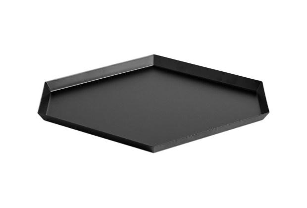 Hay Kaleido Metal Tray Large Black
