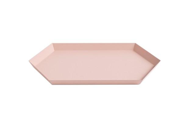 Hay Kaleido Metal Tray Medium Peach