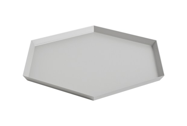 Hay Kaleido Metal Tray XL Grey