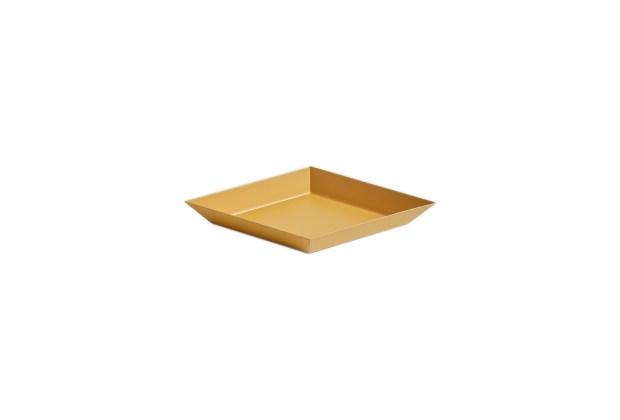 Hay Kaleido Metal Tray XS Light Amber