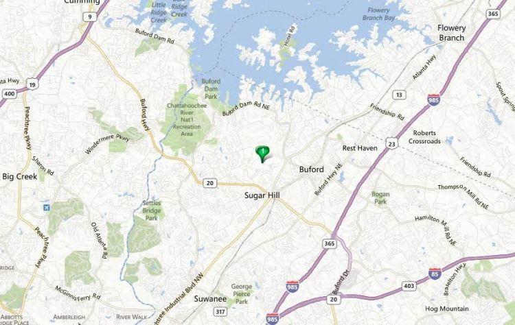 Map Location Of Primrose Creek