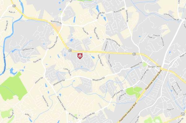 Arbor Clos Neighborhood Map Location