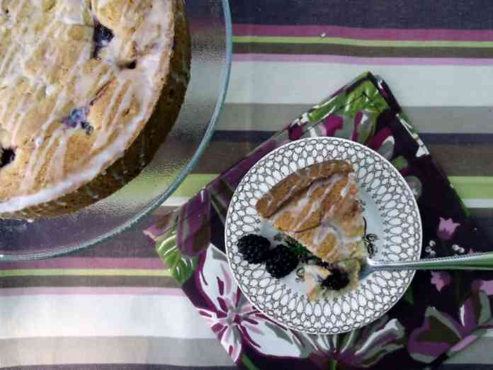 Blackberry Coffee Cake Recipe-Home in the Finger Lakes