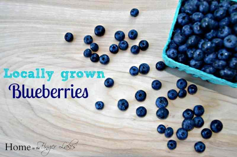 Locally Grown Blueberries
