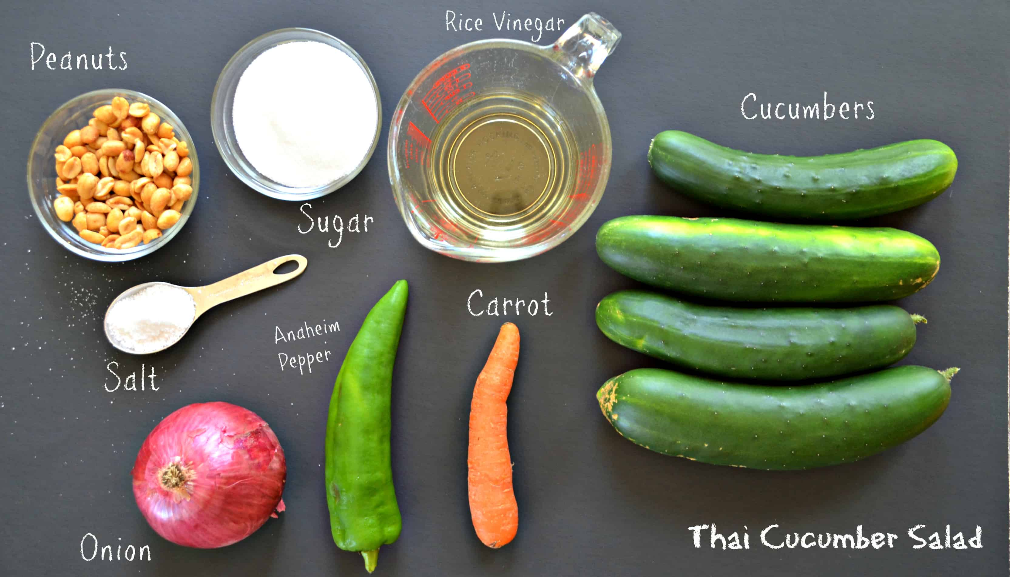 Thai Cucumber Salad-Home in the Finger Lakes