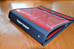 Back to school shopping Trapper Keeper