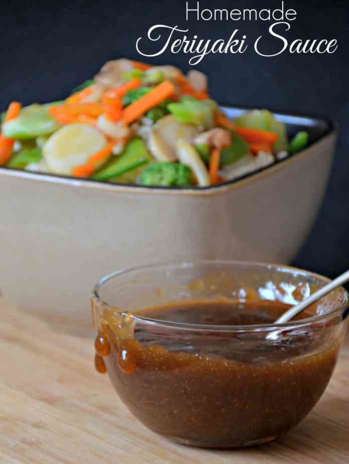 This easy Homemade Teriyaki Sauce recipe uses no exotic ingredients. Great as a marinade or as a sauce.