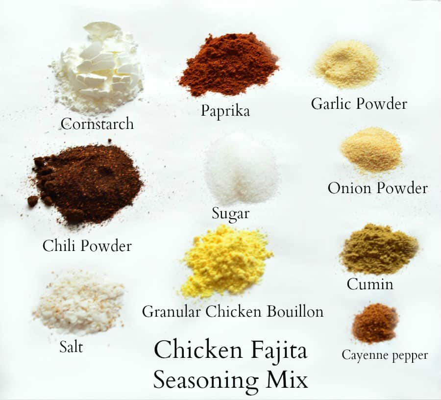 Chicken Fajita Seasoning Mix Home In The Finger Lakes