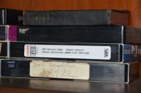 VHS Tapes Brookside