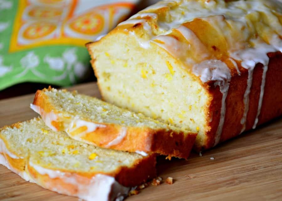 Lemon Zucchini Bread with Lemon Glaze