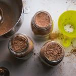 Hot Cocoa Dry Mix in Mason Jars