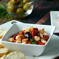 Marinated Roasted Red Pepper Spread and Effortless Holidays with Mezzetta
