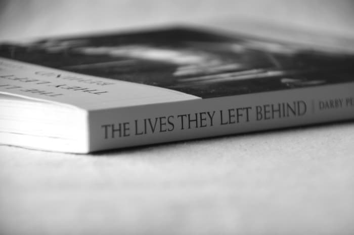The lives they Left Behind Black and White