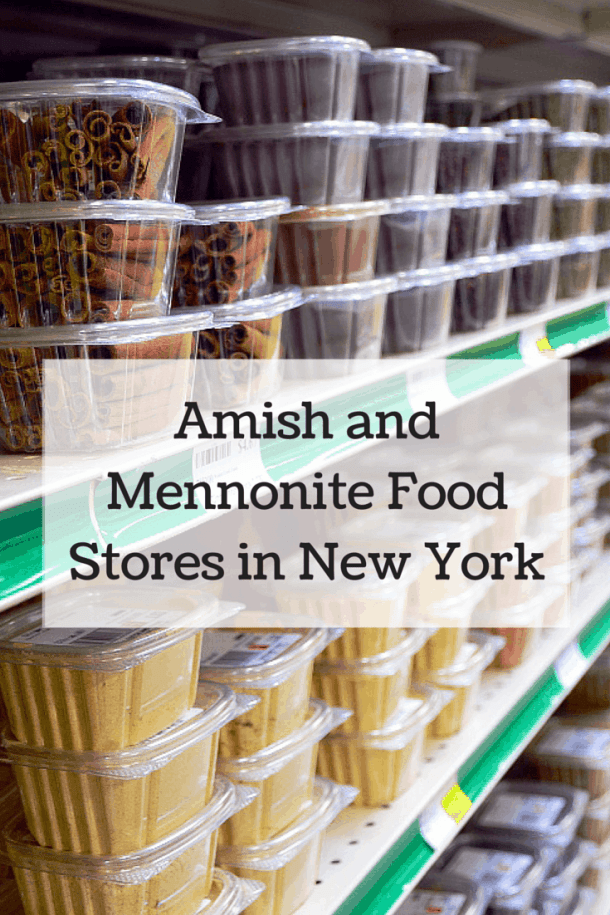 Amish and Mennonite Food Stores in New York