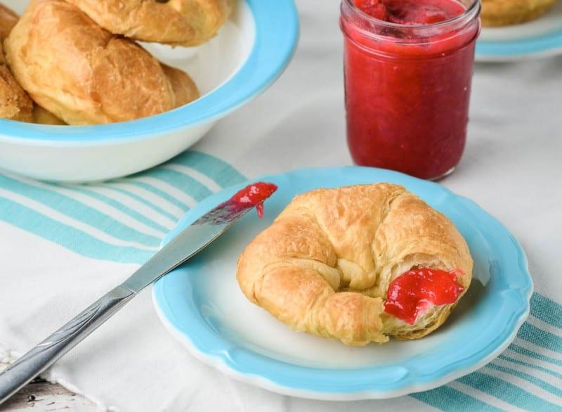 Rhubarb Orange Jam