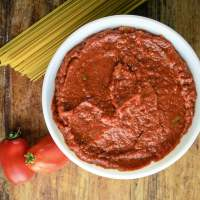 Fresh Oven Roasted Tomato Sauce