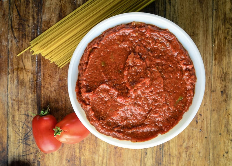 Fresh Oven Roasted Tomato Sauce (4 of 4)