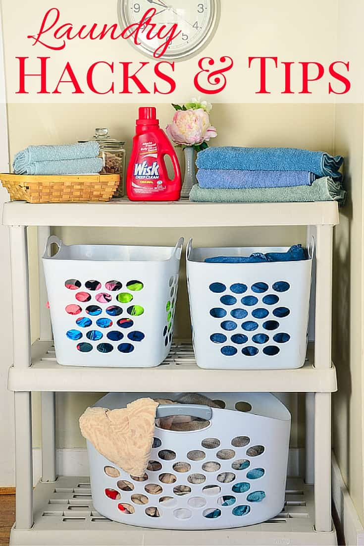 I've been deep in the laundry trenches, and sharing a few of my favorite tips and hacks to lighten the load and defunkify your laundry.