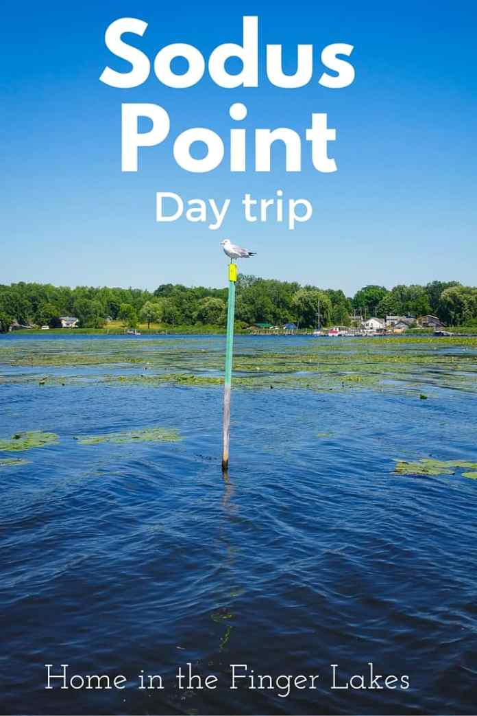 Sodus Point on Lake Ontario, lots of fun activities and sites to see make this an ideal day trip.