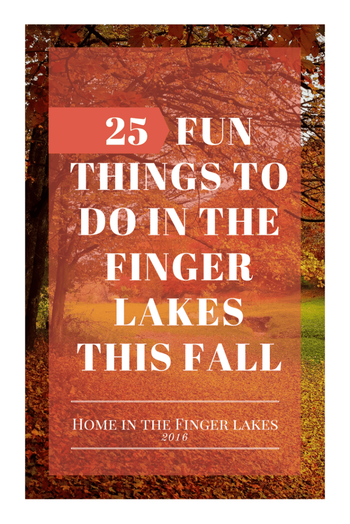 20 Fun Things to do in the Finger Lakes this Fall. The fall foliage is some of the most beautiful in the country, and there are activities and events for everyone!