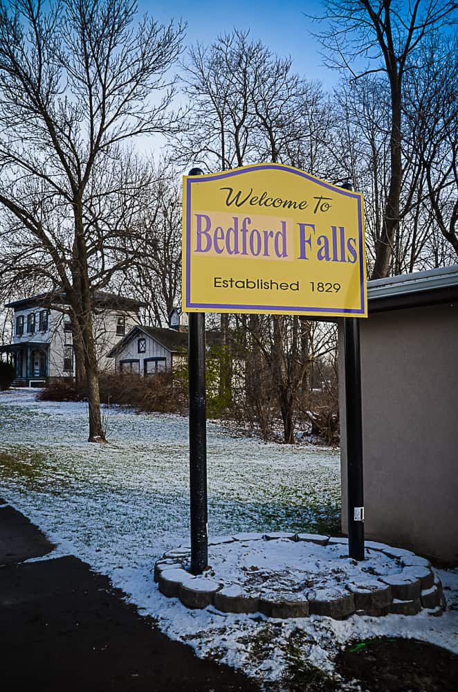 Seneca Falls transforms into Bedford Falls on the 20th anniversary of It's a Wonderful Life