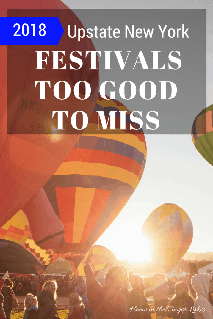 Updated for 2018! 10 Upstate New York Festivals to add to your calendar.
