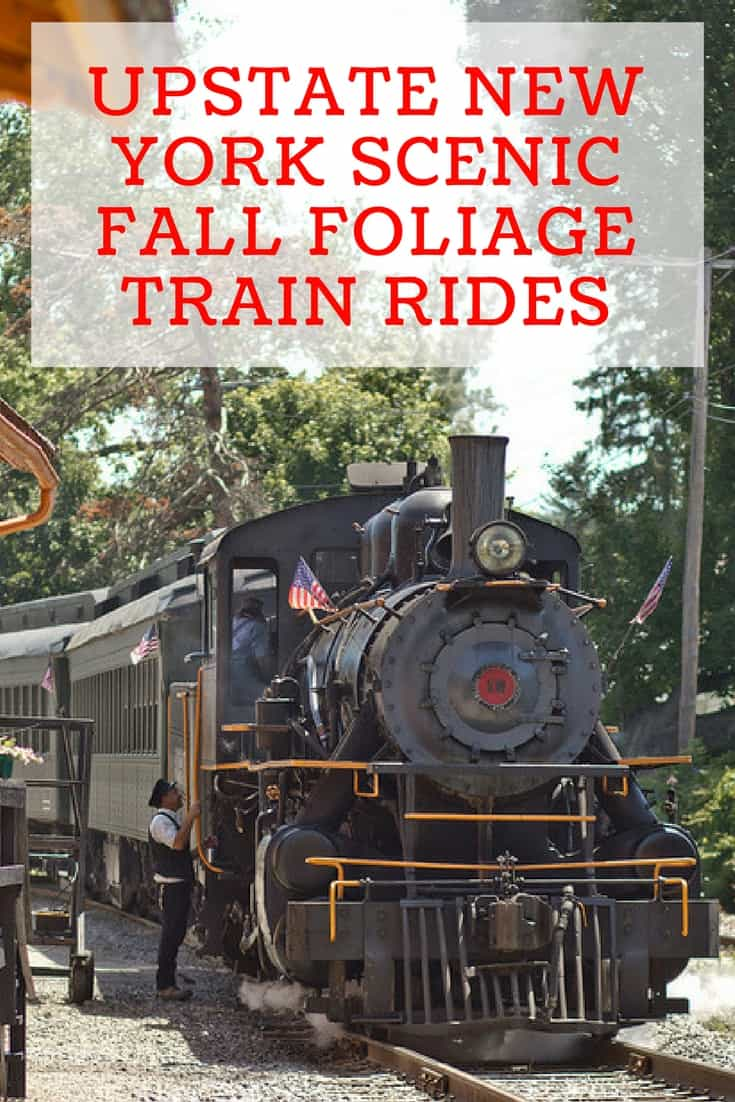 From the Mountains to the Finger Lakes region there is no better way to take in all the colors and sites than on a train tour.