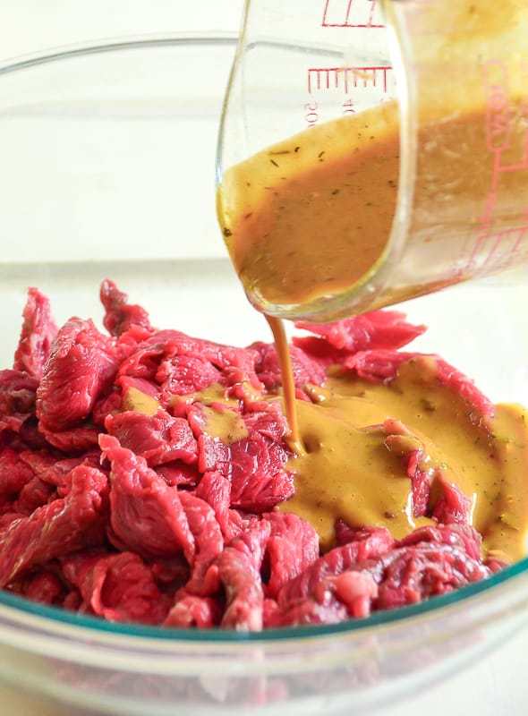 Insanely Delicious (and Quick!) Cheesesteak Sandwich Marinade