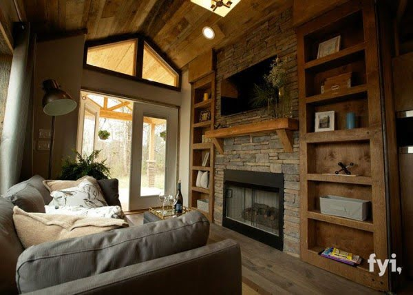 I Thought This 400-Sq-Ft Tiny House Was Beautiful But One Step Inside…WOW!