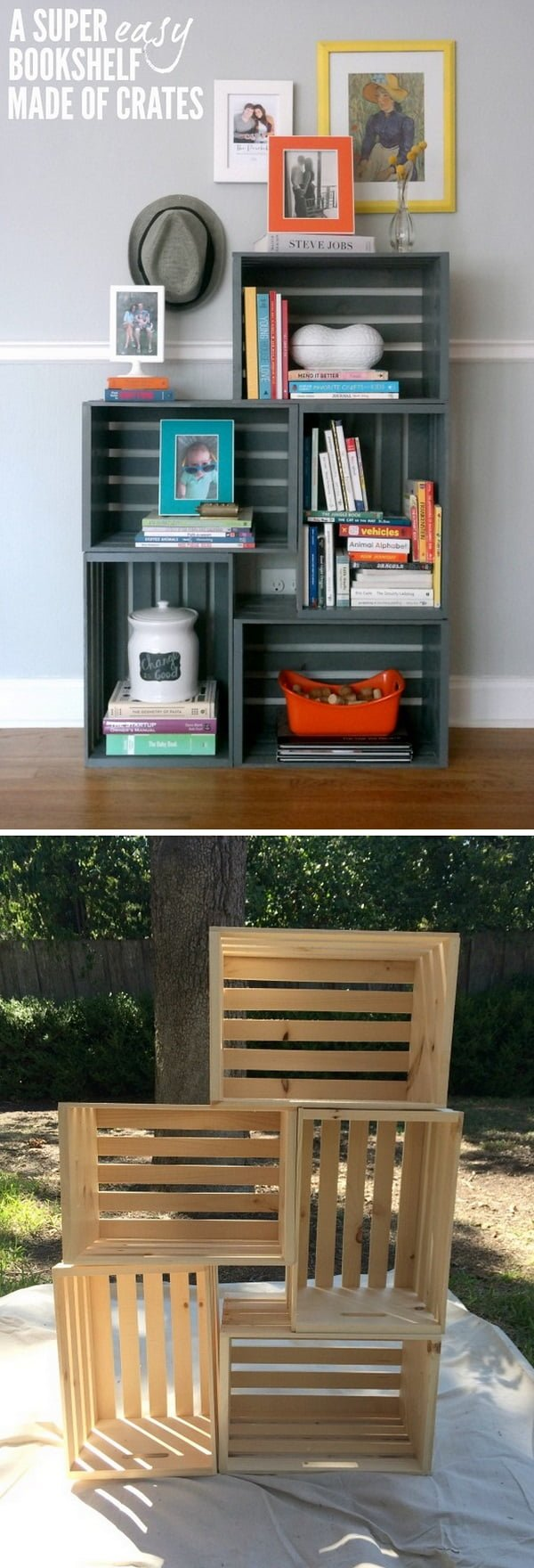 22 Amazing Diy Bookshelf Ideas With Plans You Can Make Easily