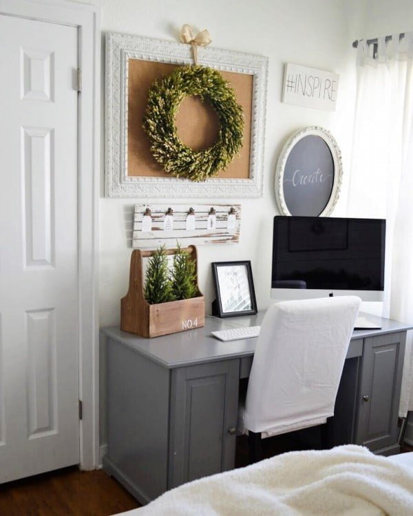 100 Charming Farmhouse Decor Ideas for Your Home Office 100 Charming Farmhouse Decor Ideas for Your Home Office   Check out this   farmhouse style